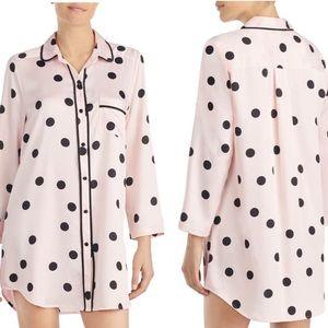 Kate Spade polka dot sleep shirt